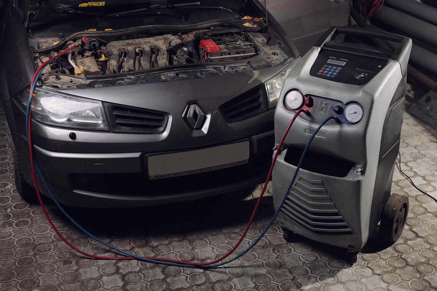 Установка кондиционеров в автомобиль рено цена рено кангу установка кондиционера в